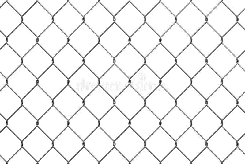 Iron wire fence stock illustration. Illustration of metallic - 17789266