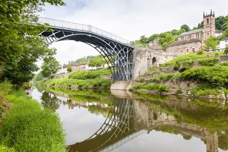 Ironbridge,萨罗普郡,英国 免版税库存图片