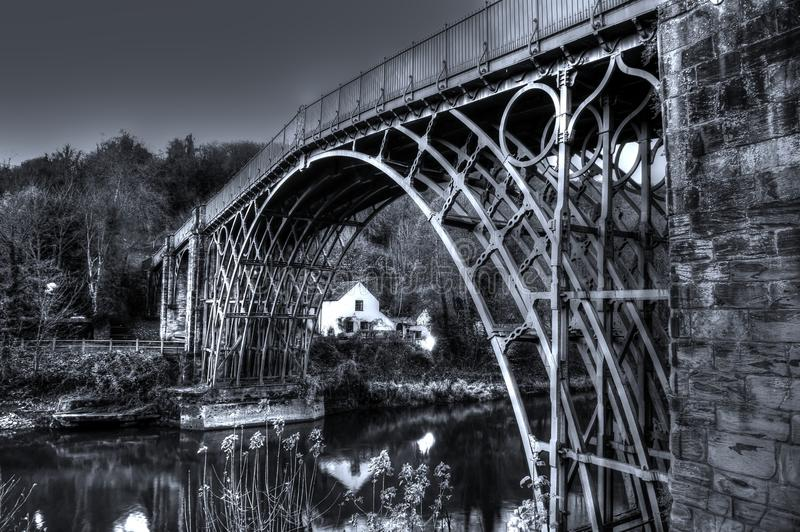 Ironbridge A fotografía de archivo libre de regalías