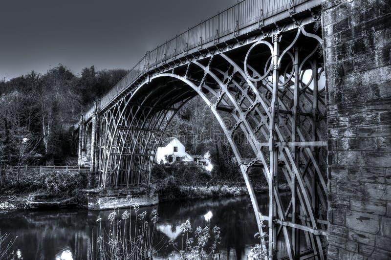 Ironbridge A royalty-vrije stock fotografie