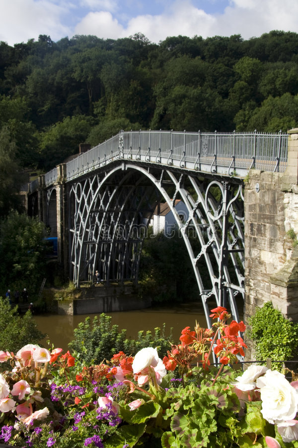 ironbridge 图库摄影