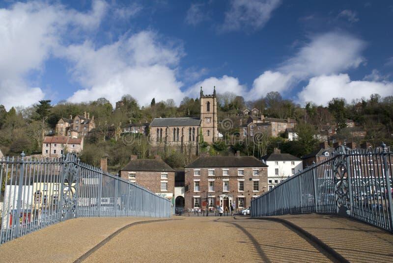 Ironbridge. Engeland royalty-vrije stock afbeeldingen