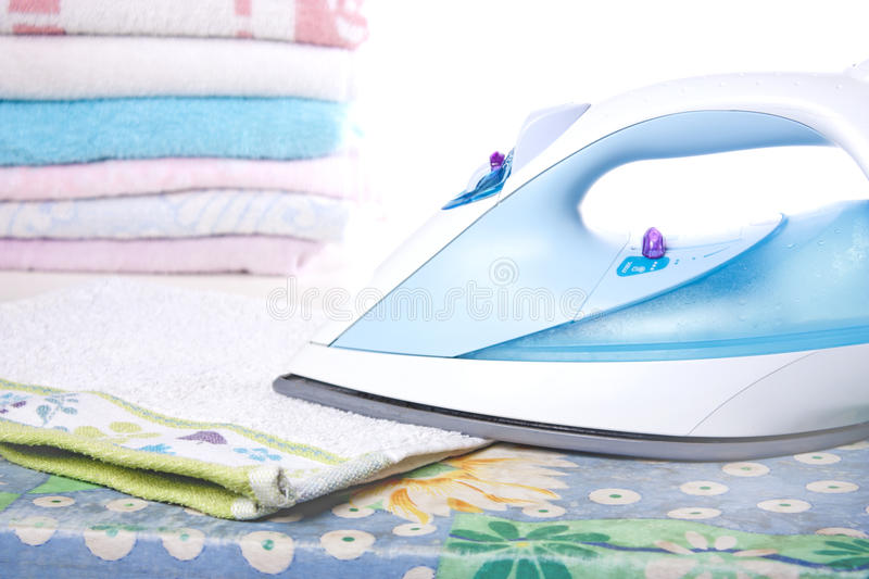Download Ironed Laundry stock photo. Image of soft, plastic, textile - 18309728