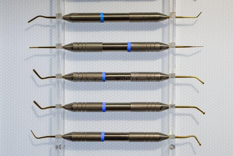 Ironer de Shtpfer, instrumento dental imagens de stock royalty free