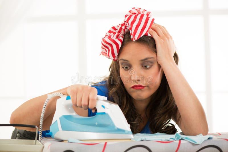 ironing stock foto
