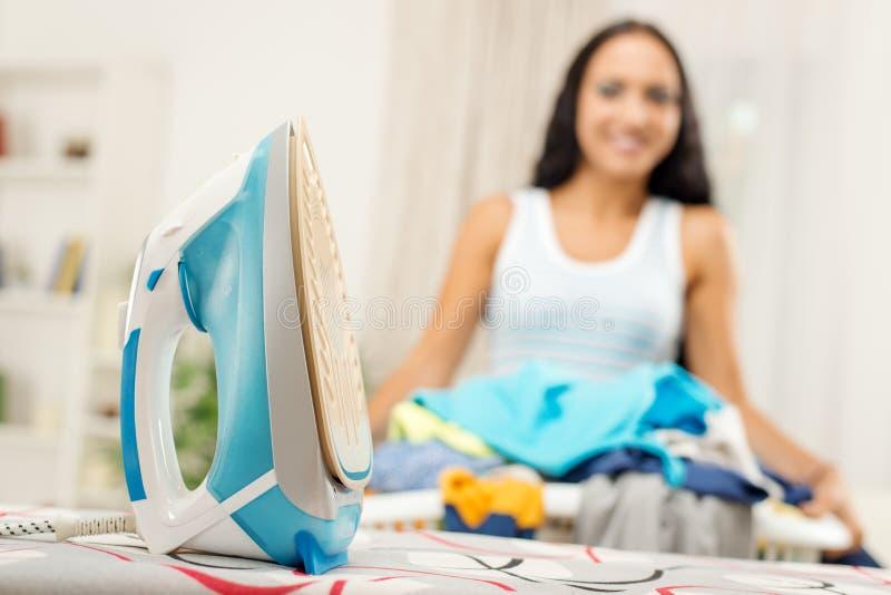 ironing stock fotografie