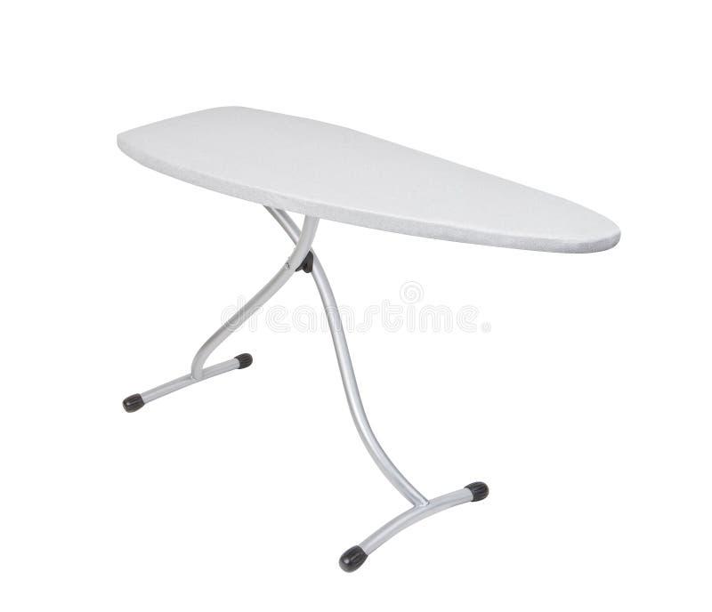 Ironing board. Isolated on white background stock photo