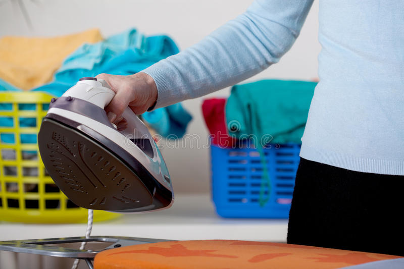 Download Ironing stock photo. Image of device, activity, closeup - 38210574