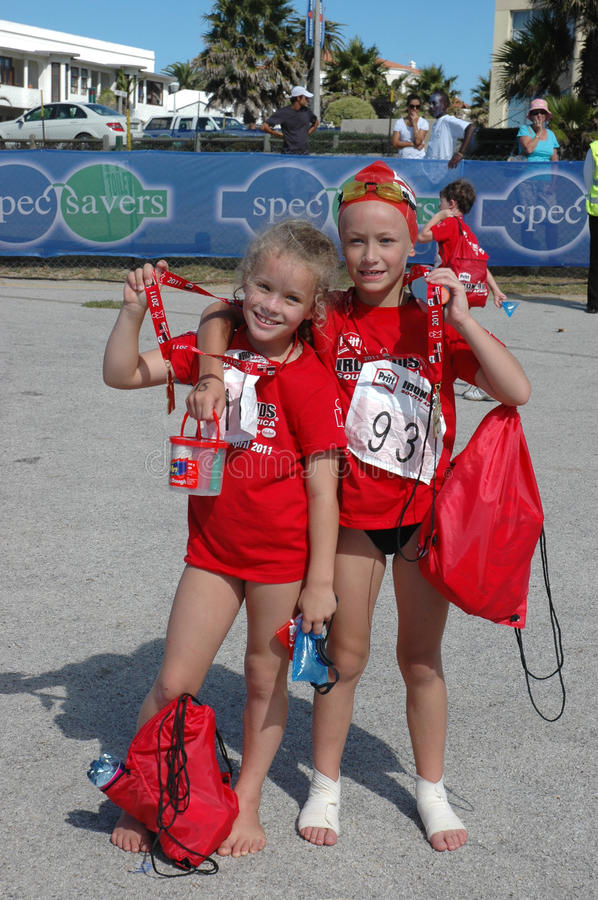 Download Ironkids 2011 Winners, South Africa Editorial Stock Photo - Image: 19103473
