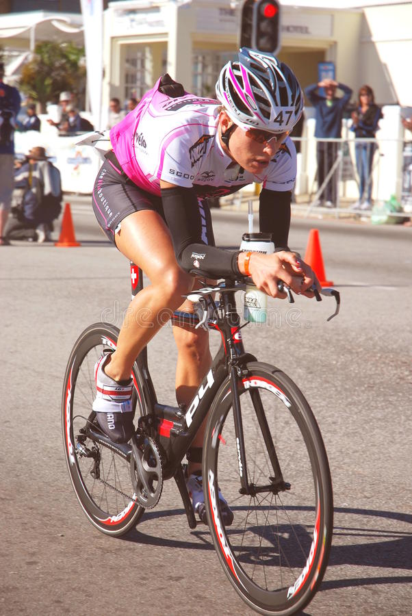 Ironman África do Sul 2010 imagem de stock