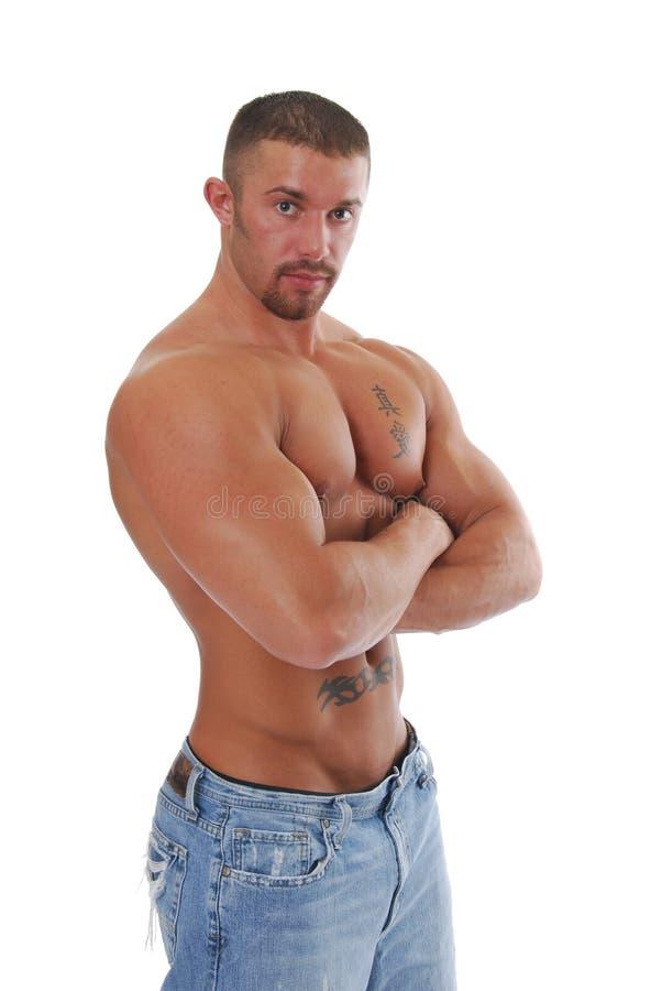 Download Ironman immagine stock. Immagine di muscolare, addome - 3880579