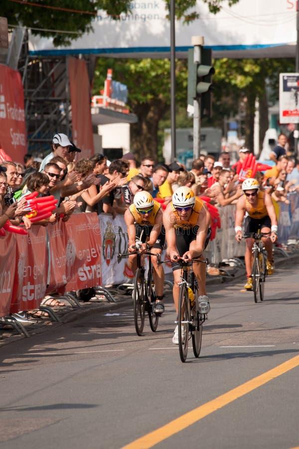 Ironman Alemanha 2009 imagens de stock