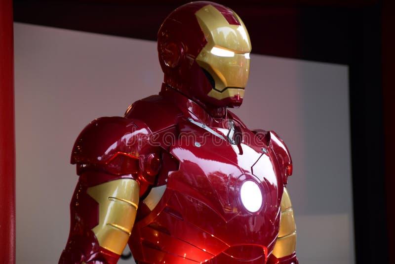 Ironman/Eisen-Mann-Wunder ` s Superheld stockbild