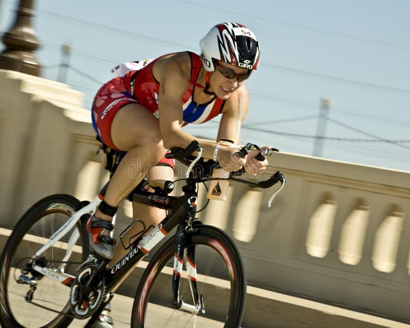 ironman feniksa triathlon obraz royalty free
