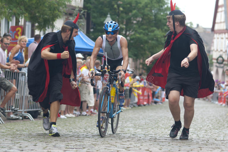 Ironman Francoforte imagens de stock