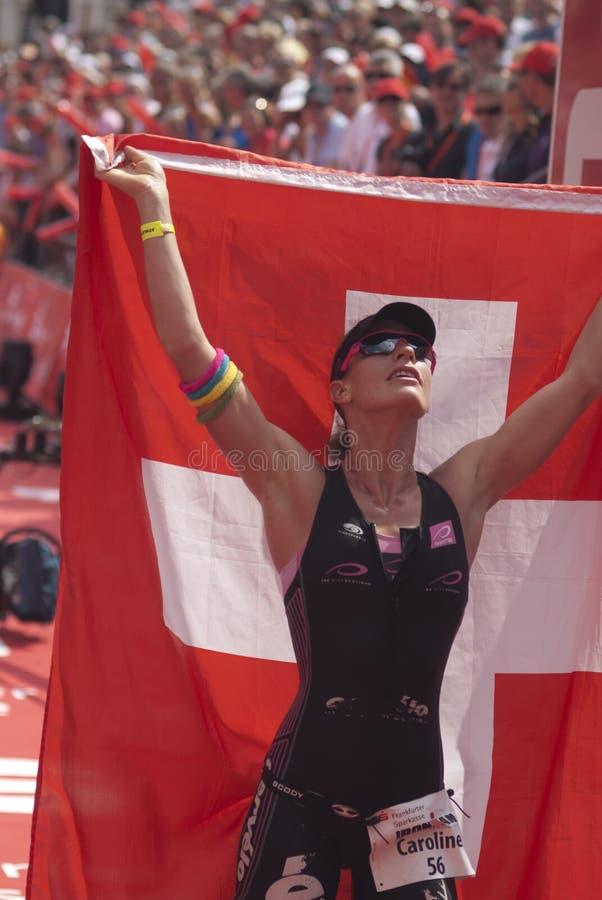 Ironman Frankfurt stock foto's