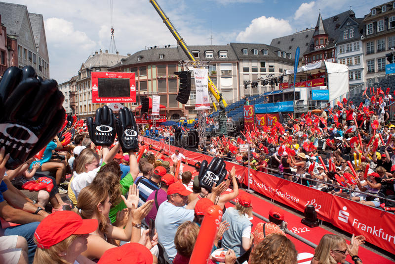Ironman Germany 2009 stock image