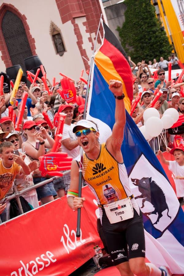 Ironman Germany 2009 stock photo