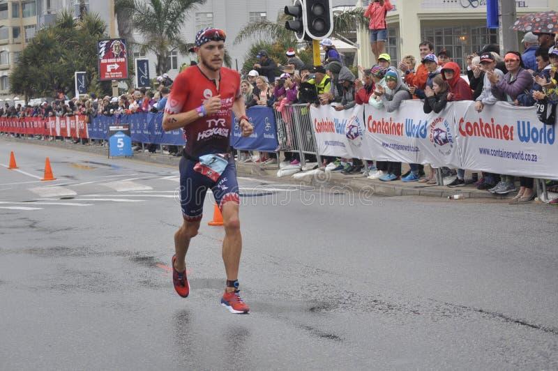 Ironman 70 mästerskap för 3 värld i portelizaeth i Sydafrika royaltyfri bild