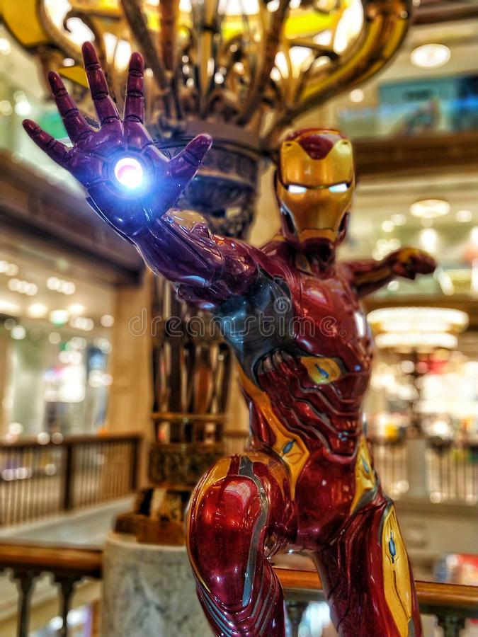 Ironman power royalty free stock images