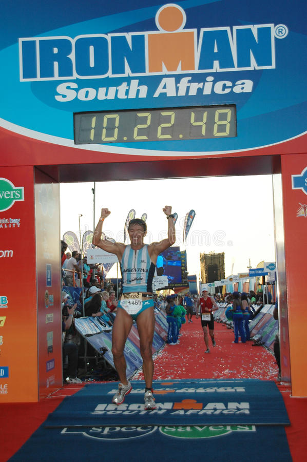 Ironman Südafrika lizenzfreie stockbilder