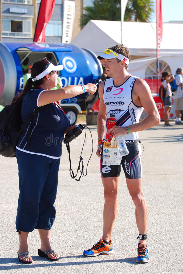 Ironman South Africa 2011 stock images