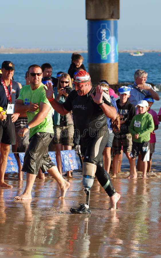 Ironman South Africa 2011 royalty free stock photos