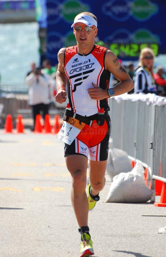 Ironman triathlete Andi Boecherer royalty free stock images
