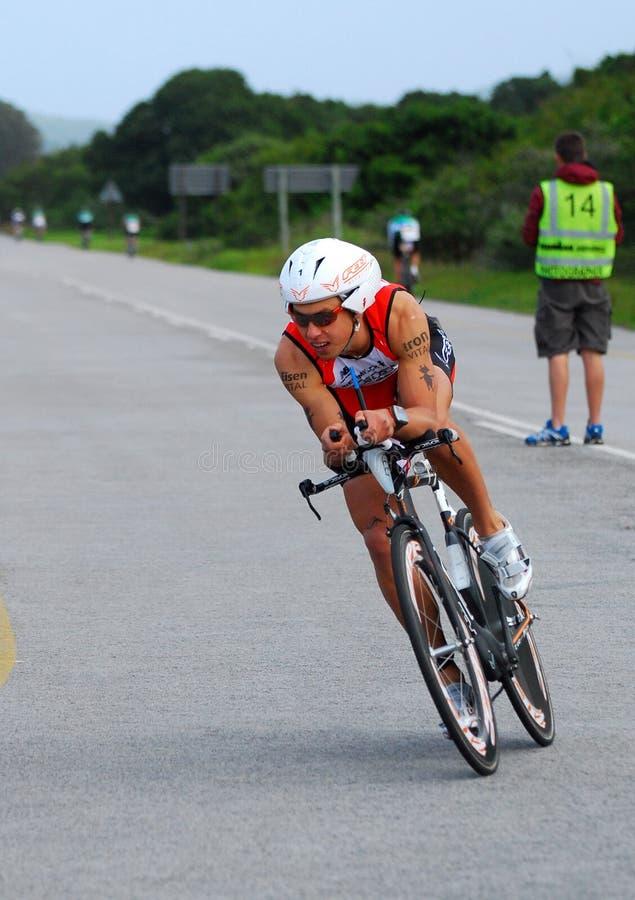 Ironman triathlon - Andi Boecherer royalty free stock photo