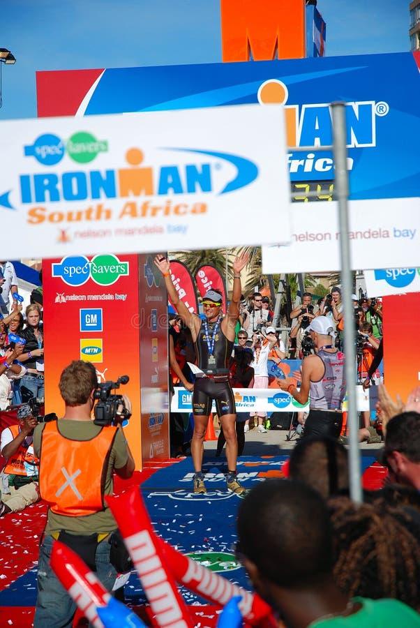 Ironman Zuid-Afrika 2008 stock foto