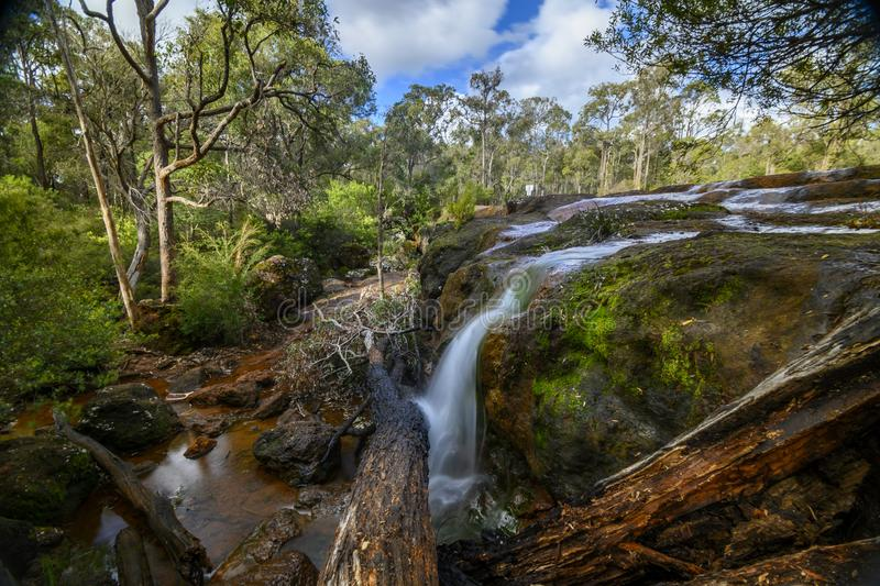 Ironstone Gully Falls royalty free stock images