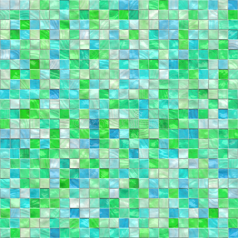 Irregular tiles vector illustration