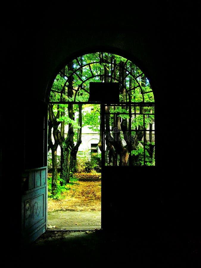 Irrenhaus von Monza, Italien stockfoto