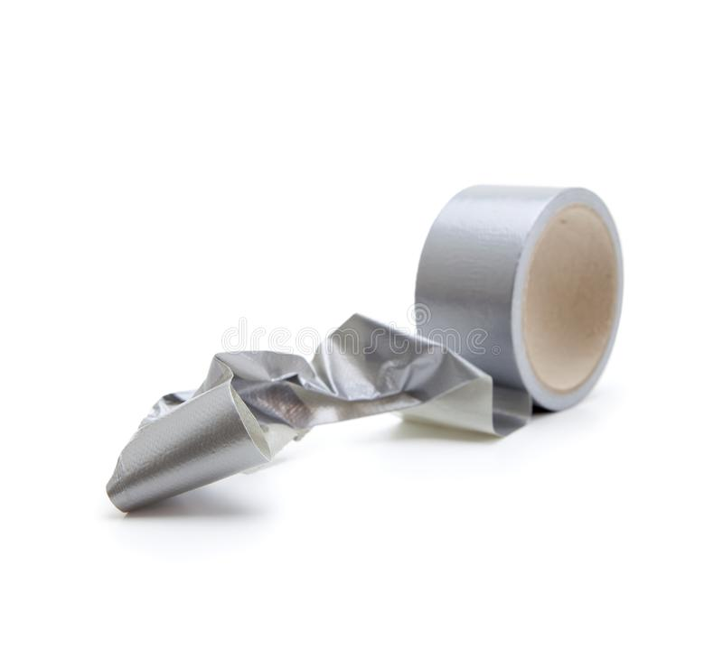 Free Irreversible Phenomenon. Tangled Up Duct Tape. Royalty Free Stock Photos - 22896358