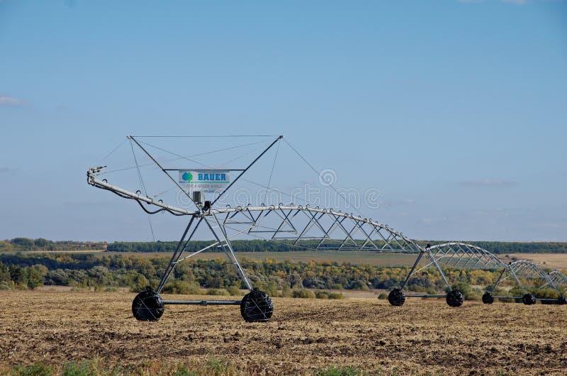 Irrigatiesysteem royalty-vrije stock fotografie