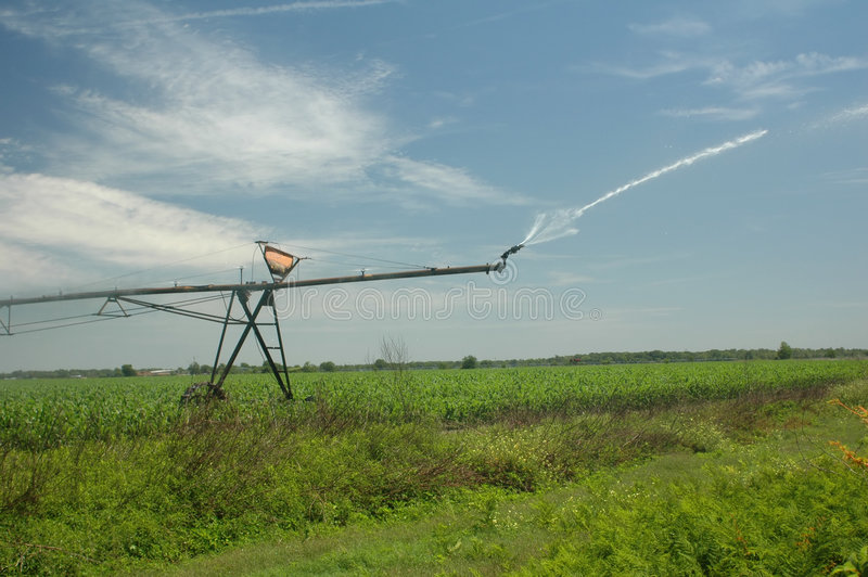 Download Irrigation_4 image stock. Image du bleu, affermage, irrigation - 731727