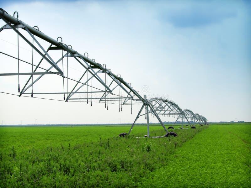 Irrigation equipment royalty free stock photos