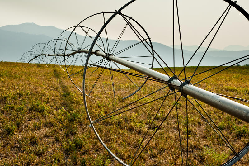 Download Irrigation Equipment stock photo. Image of circle, farming - 27287532
