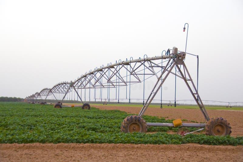 Irrigation Machine stock photography