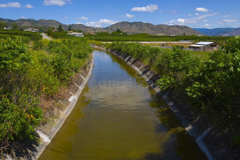 Download Irrigation For The Orchards. Osoyoos, B.C. Stock Photo - Image: 20729894