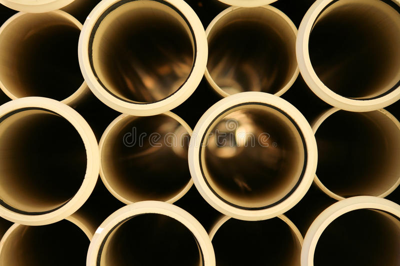 Irrigation Pipes royalty free stock photography