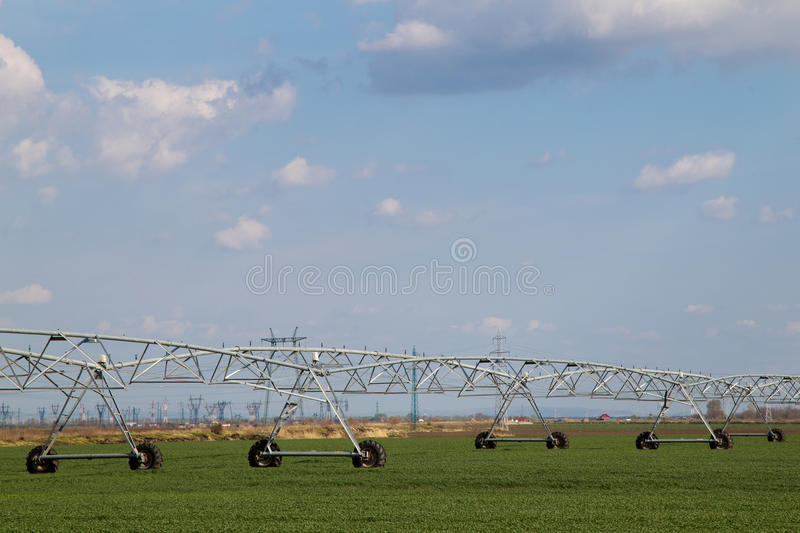 Download Irrigation system stock photo. Image of cultivated, automation - 24391368