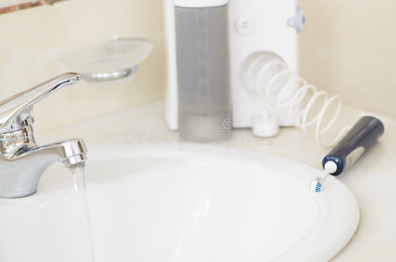 Irrigator oral photos libres de droits