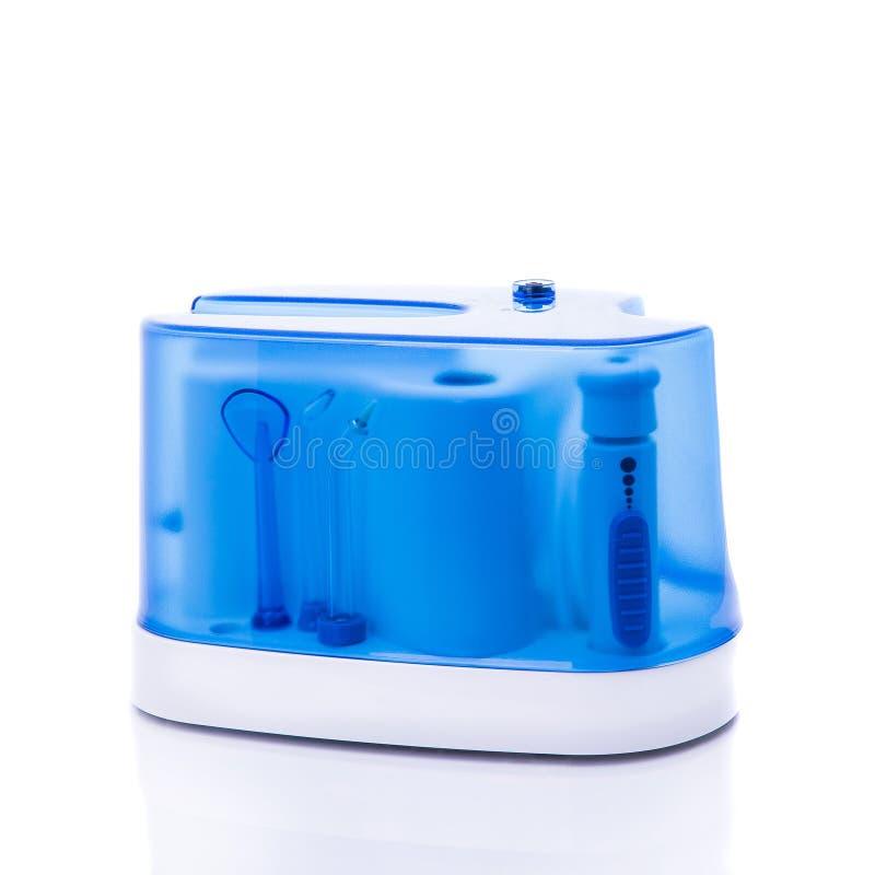 Irrigator oral universal la cavidad bucal fotografía de archivo libre de regalías