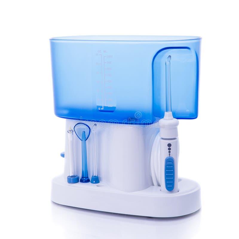 Irrigator oral universal la cavidad bucal imagen de archivo