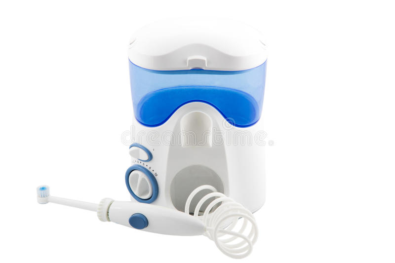 Irrigator pour oral photos stock