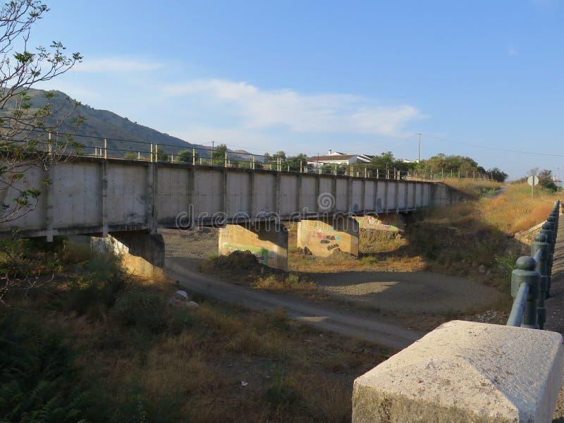 Irrigazione Aquaduct fotografia stock libera da diritti
