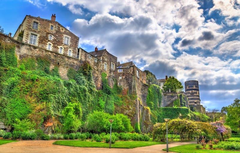 Irrita o castelo no Loire Valley, França imagens de stock royalty free