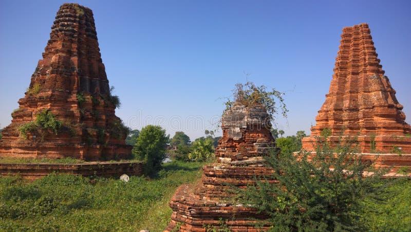 Irrite la pagoda, Inwa (Ava), Myanmar (Birmanie) images stock