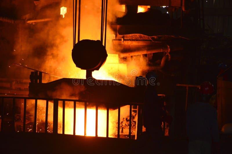 Irruption расплавленной стали
